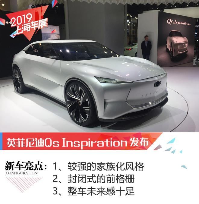 2019上海车展:英菲尼迪Qs Inspiration概念车发布