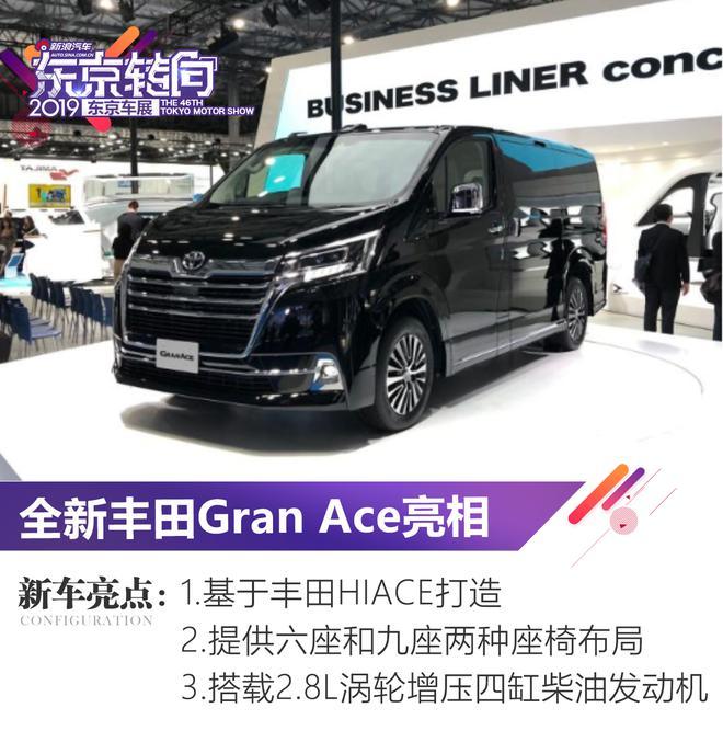 2019东京车展:丰田全新Gran Ace亮相