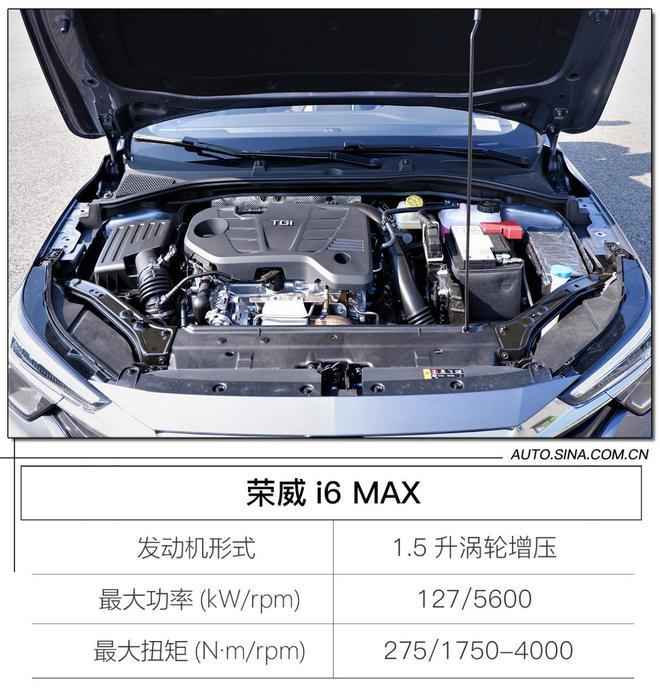 """高级""""装备""""集于一身 场地试驾荣威i6 MAX"""