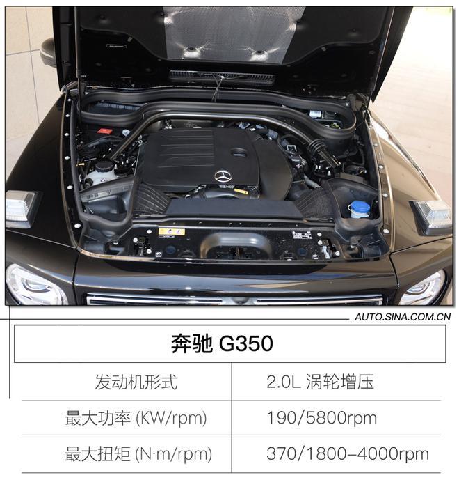 奔驰G换2.0T就不是G了? 试驾奔驰G350