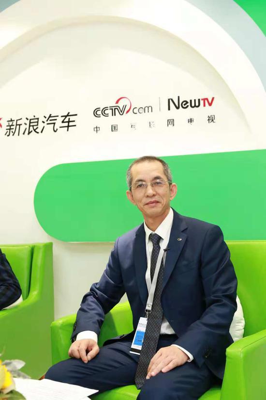 广汽集团乘用车有限公司副总经理 黄永生