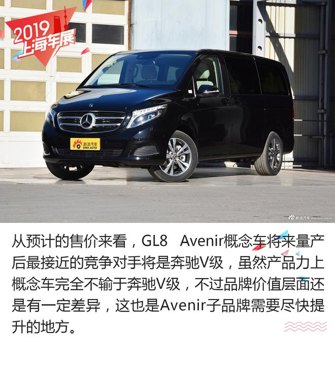 陆上头等舱 别克GL8 Avenir概念车解析