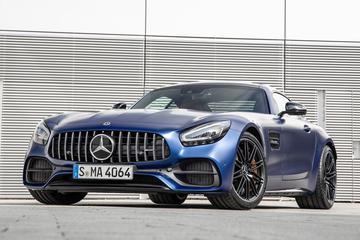 蓝色公路幽灵,Mercedes-Benz AMG GT C