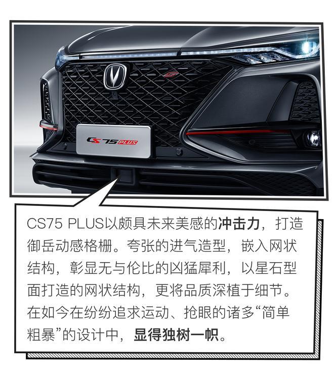 开启PLUS生活模式 长安CS75 PLUS新车前瞻