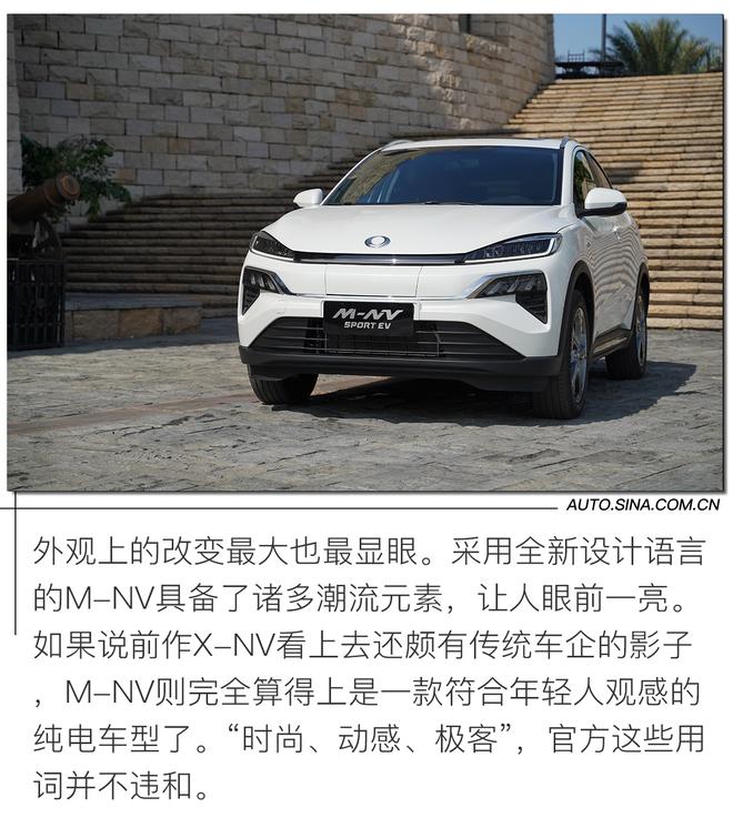 运动又时尚的小型纯电SUV? 试驾东风本田M-NV