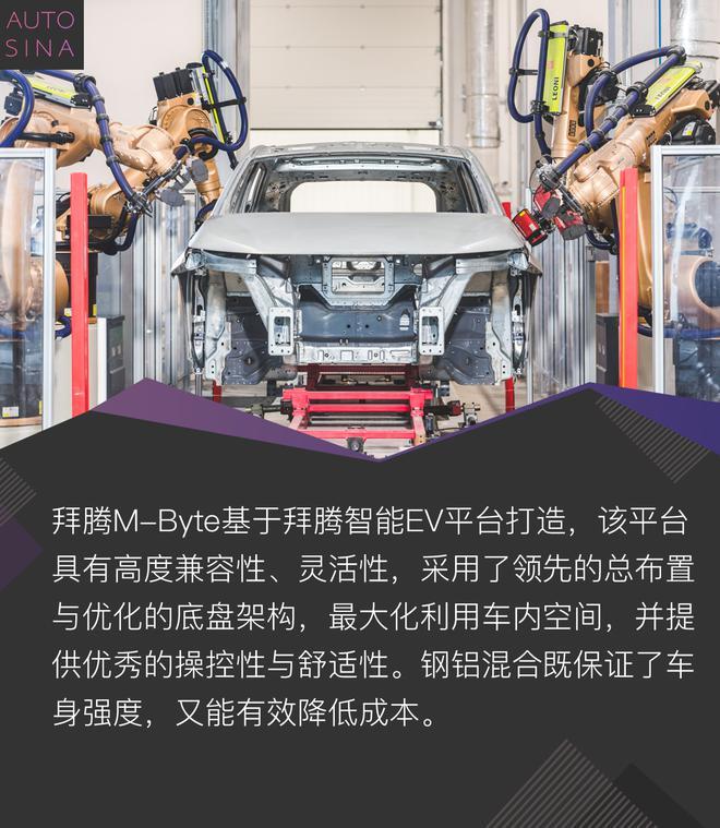 高科技配置全副武装 拜腾M-Byte量产版静态解析