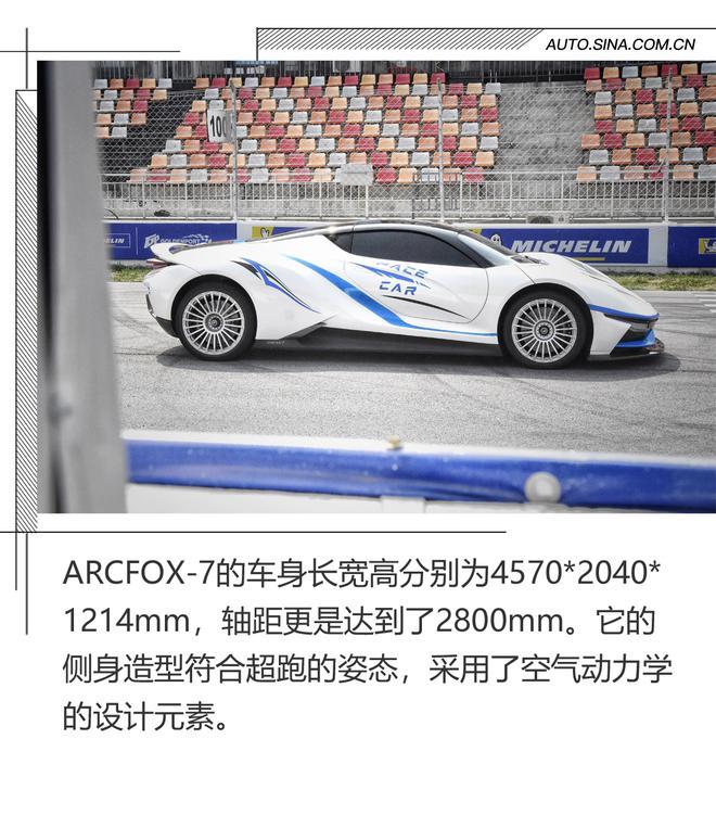 加速2.9秒的电动超跑了解下吗!ARCFOX-7
