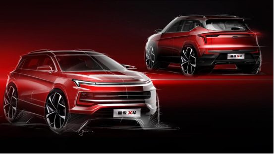 江淮首款小型SUV嘉悦X4即将上市 搭载1.5T发动机-新浪汽车