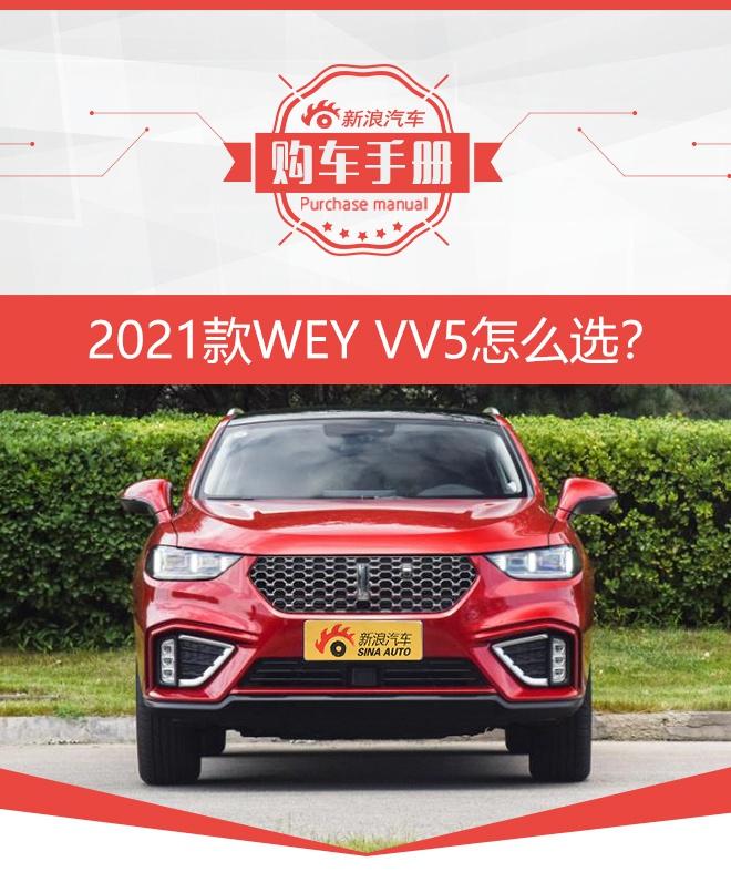 推荐两驱智先锋 2021款WEY VV5购车手册