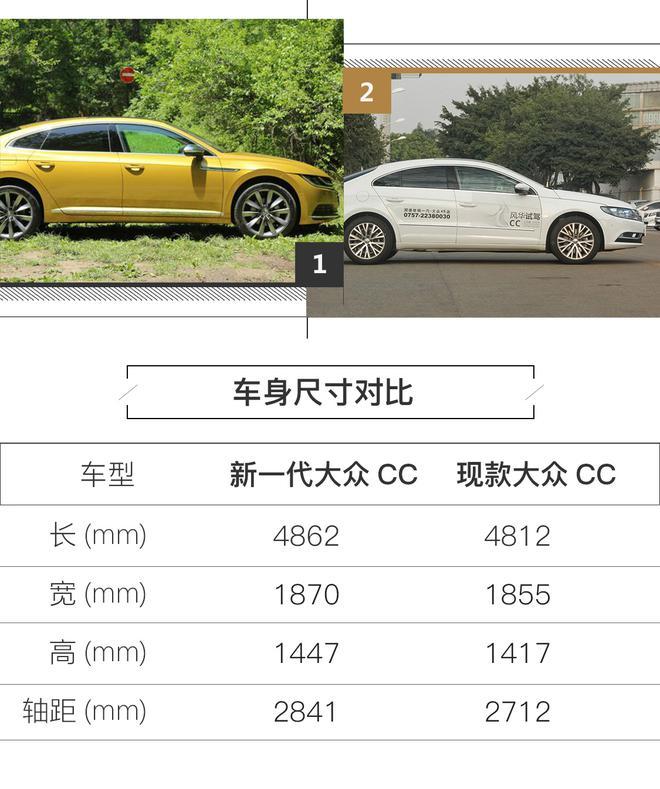 新一代大众CC预售26-32万 8月28日上市