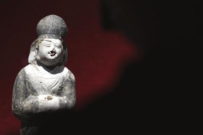 这是安徽博物院新馆北魏平城文物展上的展品