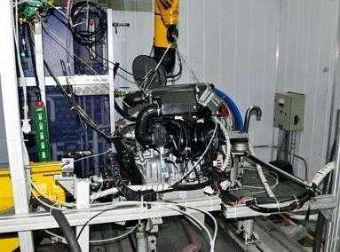 发动机台架试验