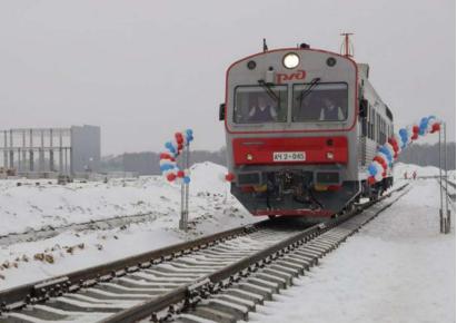 长城汽车俄罗斯图拉工厂支线火车通车