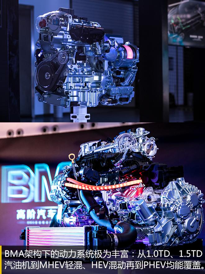 CMA的入门小弟 吉利BMA模块化架构解析