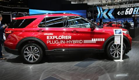 百公里油耗仅3.4L 福特全新探险者PHEV首次亮相