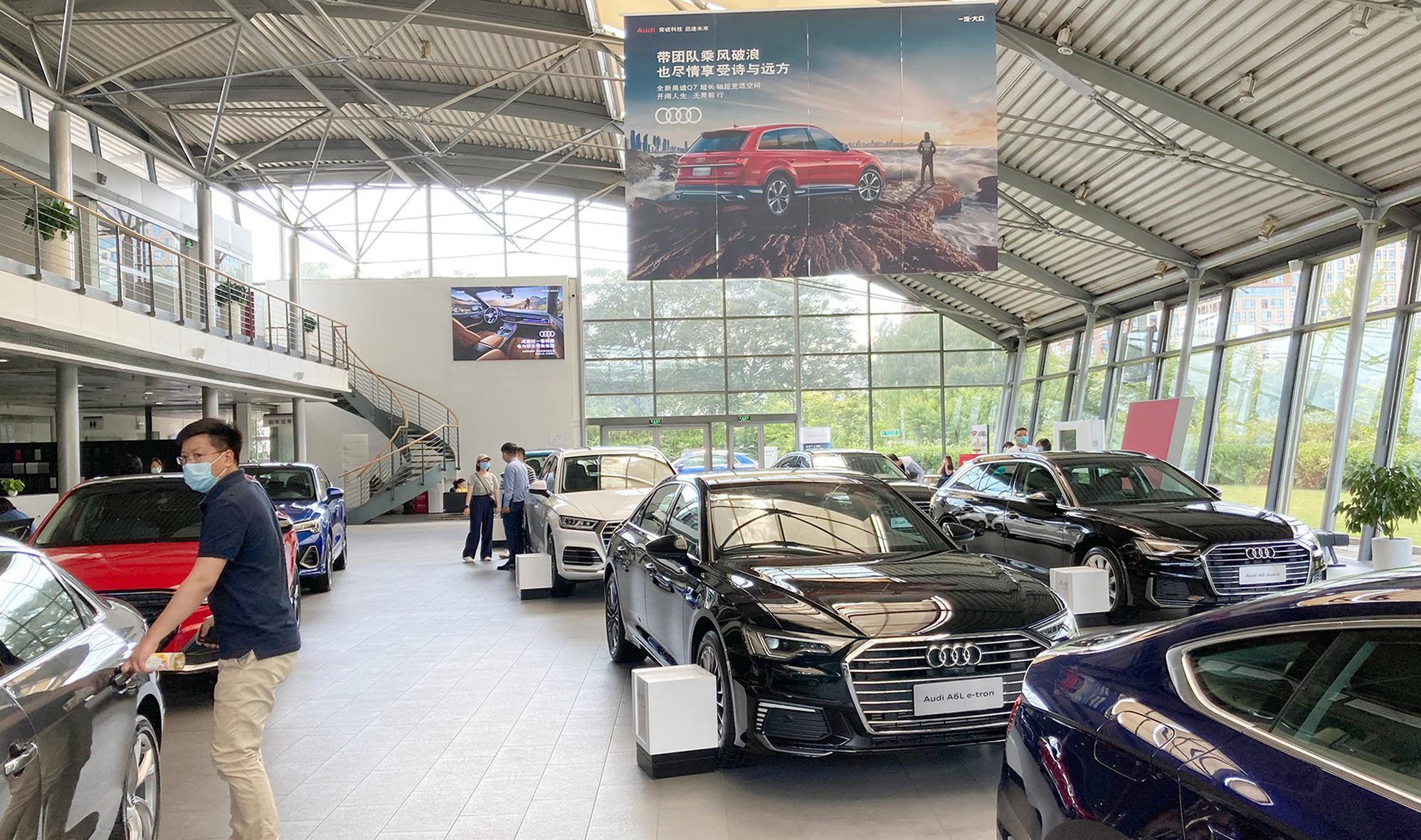 中国汽车市场风云十年 中国豪华车10年之变