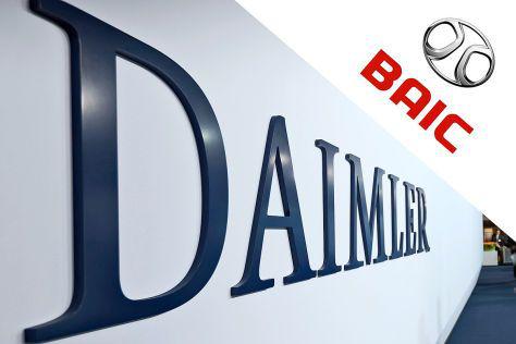 曝北汽正寻求收购戴姆勒至多5%股份