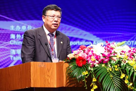 清华大学副校长、中国工程院院士尤政致辞