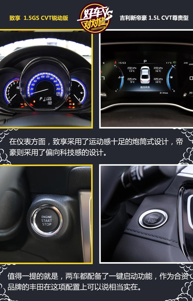 好车对对碰:丰田致享和吉利帝豪到底选哪个?