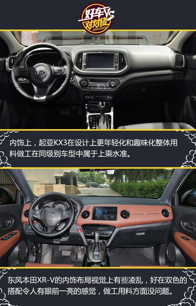 好车对对碰之起亚KX3 VS 本田XR-V
