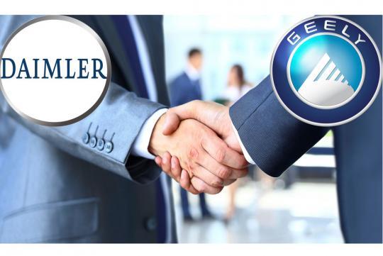 沃尔沃曾反对吉利购买戴姆勒股份