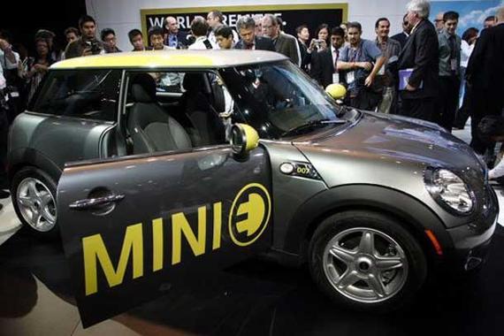 宝马正在全球寻求合资生产MINI电动车