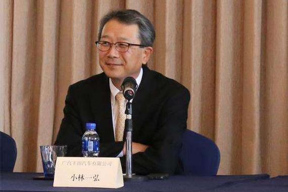 小林一弘将升任丰田中国董事长兼总经理