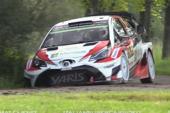 视频:丰田Toyota Yaris WRC Tribute