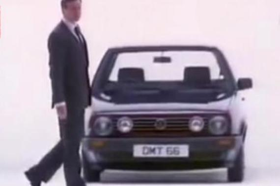 80年代大众帕萨特广告是这样