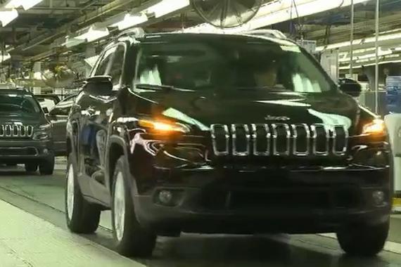 视频:Jeep自由光生产组装工艺过程欣赏!