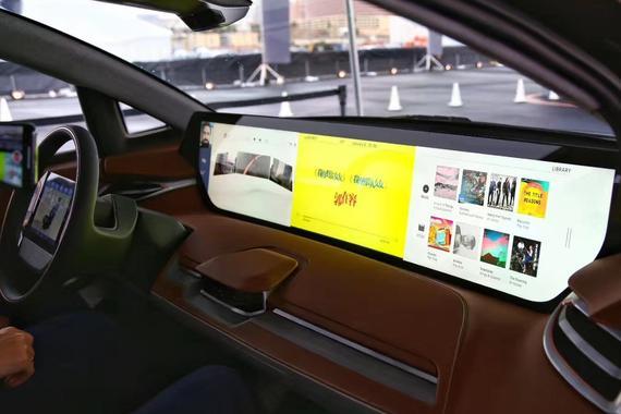 为共享和自动驾驶而生 BYTON拜腾首款车型全球首秀