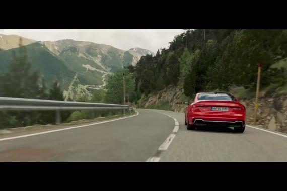 视频:新款奥迪RS5 轿跑车
