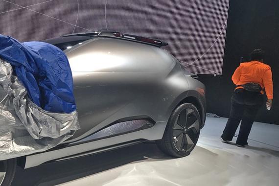 北美车展:传祺Enverge概念车