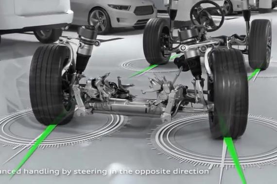 视频:高科技配置加身 新款奥迪A8
