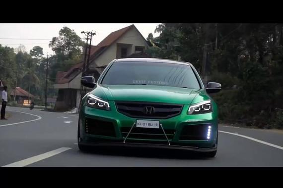 视频:本田雅阁超酷改装动感鉴赏