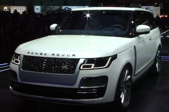 视频:双门路虎揽胜发布会 详解 Range Rover Coupe
