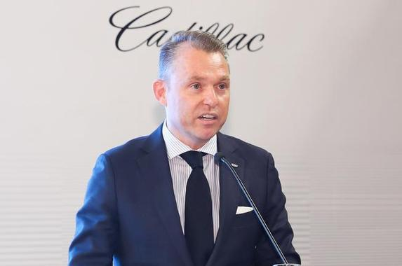 凯迪拉克全球副总裁兼凯迪拉克市场营销部部长 安德里斯-沙夫博士
