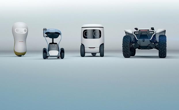 本田3E Robotics系列概念机器人