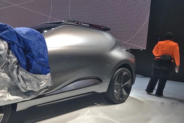 2018北美车展探馆:传祺Enverge概念车