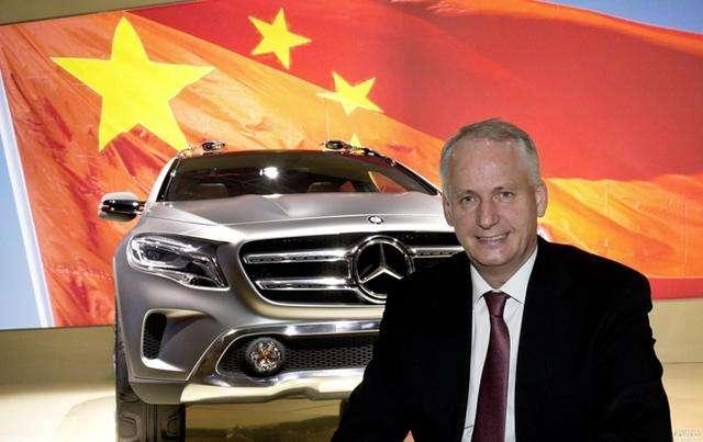 戴姆勒中国总裁唐仕凯:欢迎吉利成为新股东