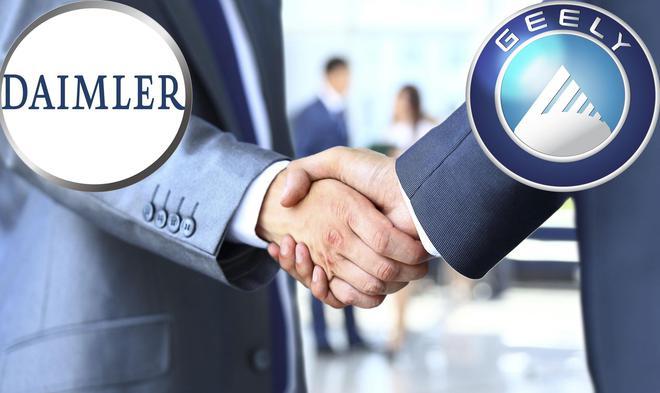 传戴姆勒将与吉利在中国成立网约车合资公司