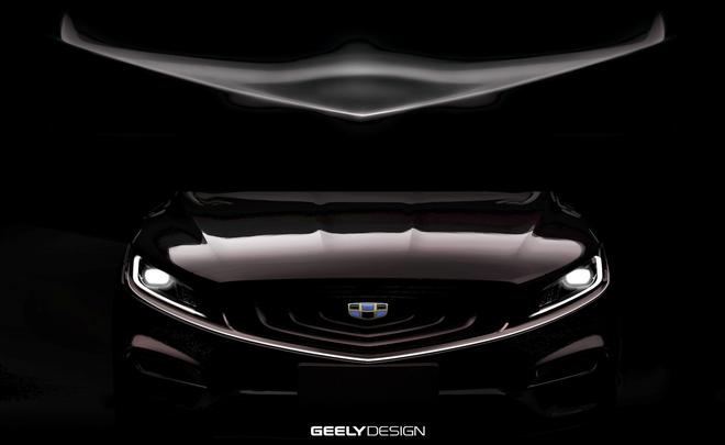 博瑞GT预告图发布 搭载混合动力系统
