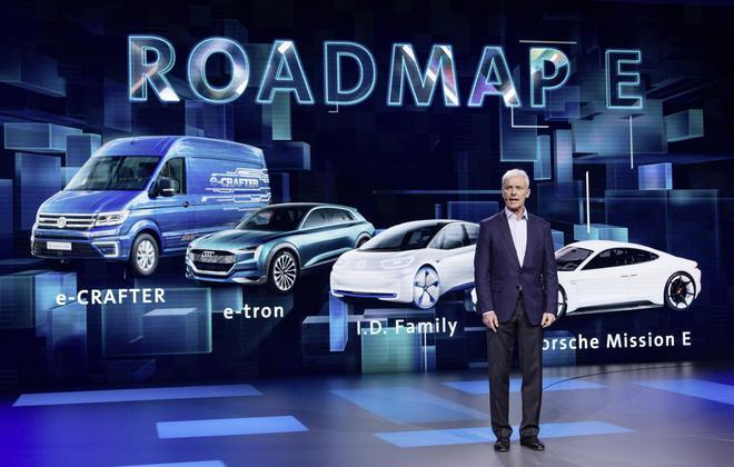 大众汽车集团CEO穆伦 Matthias Müller