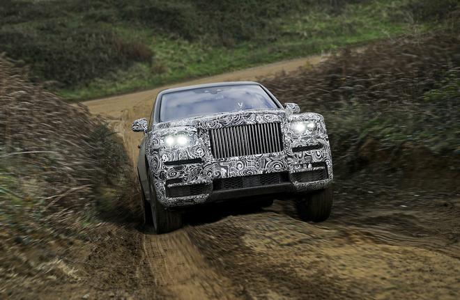 劳斯莱斯首款SUV命名库里南 夏季正式发布