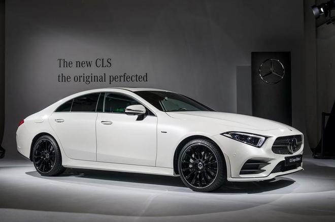 2017洛杉矶车展:全新奔驰CLS首发