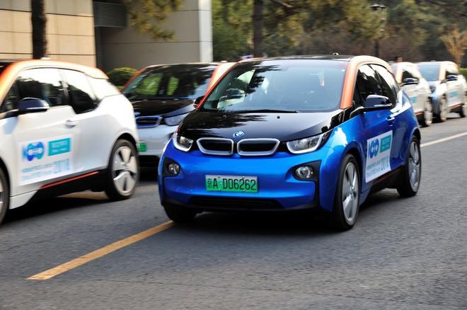 宝马中国交付有车出行50辆BMWi3 用于分时