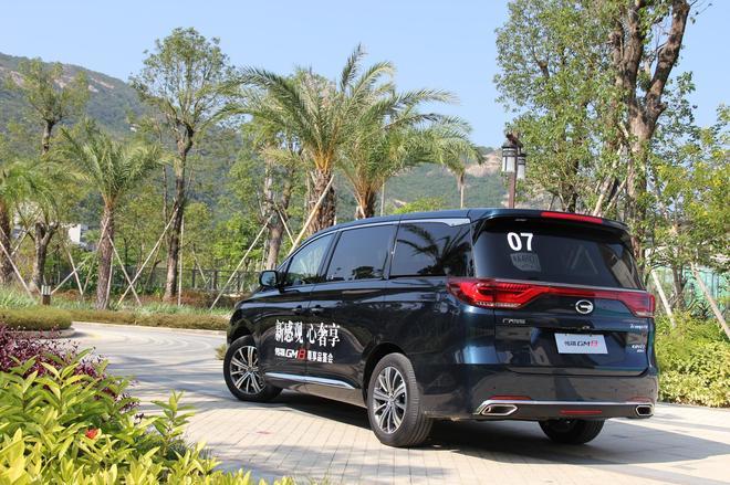 广汽传祺GM8正式上市 售17.68-25.98万元
