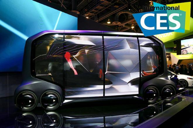 2018 CES:丰田e-Palette概念车首发亮相
