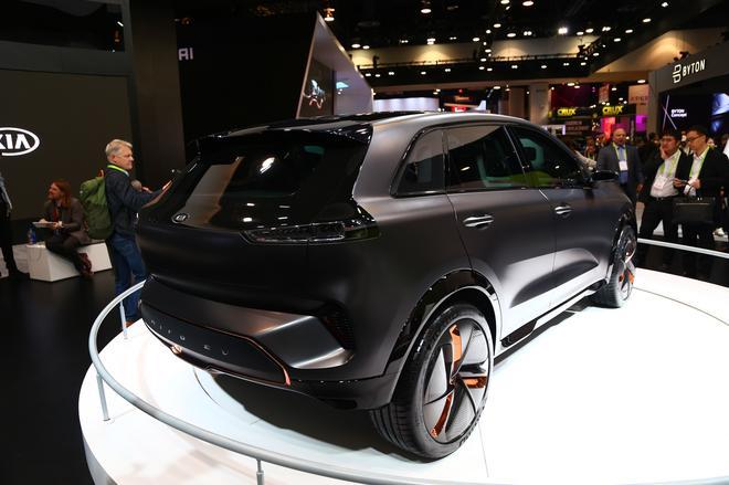 2018 CES:起亚Niro EV纯电动概念车亮相
