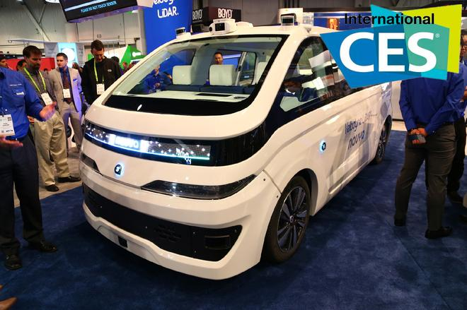 2018 CES:法雷奥+Navya=自动驾驶出租车